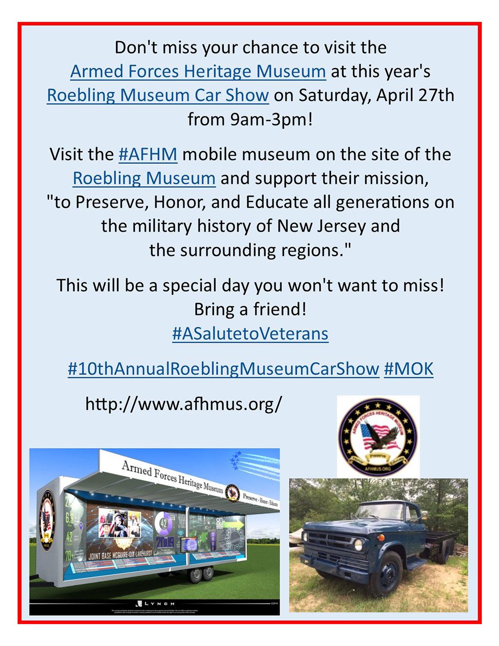Roebling Museum Car Show