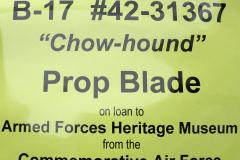 Chow-Hound Prop Blade